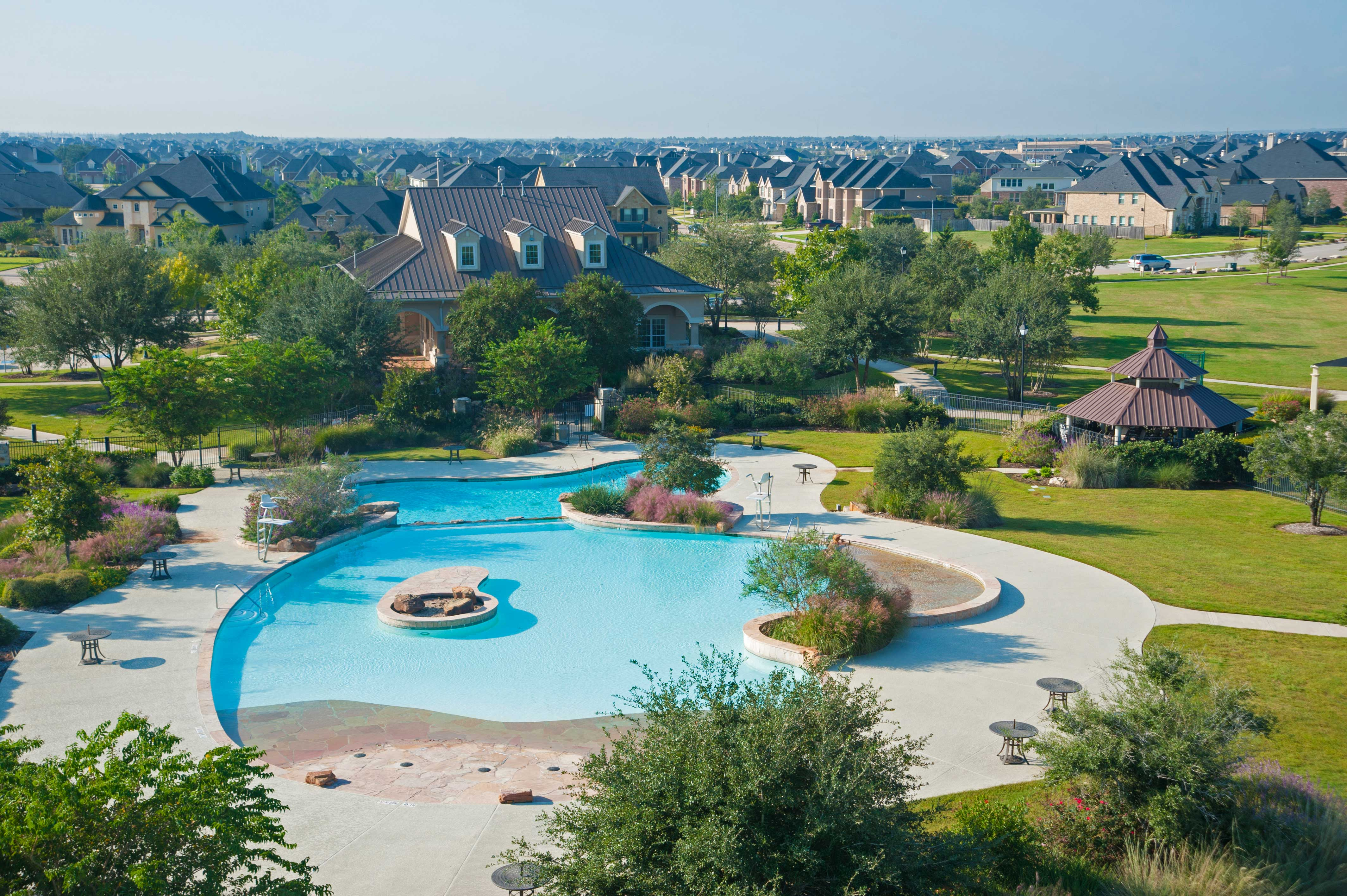 New Home Community Information Firethorne 50s Katy Texas