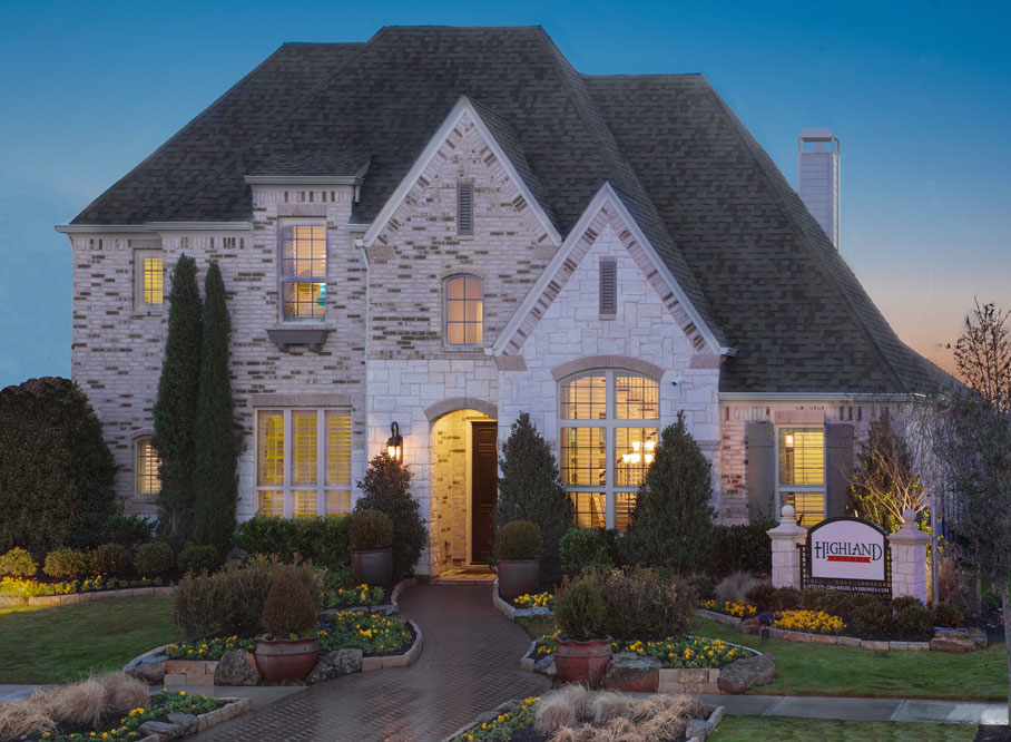 Highland homes texas homebuilder serving dfw houston san antonio austin - House images ...